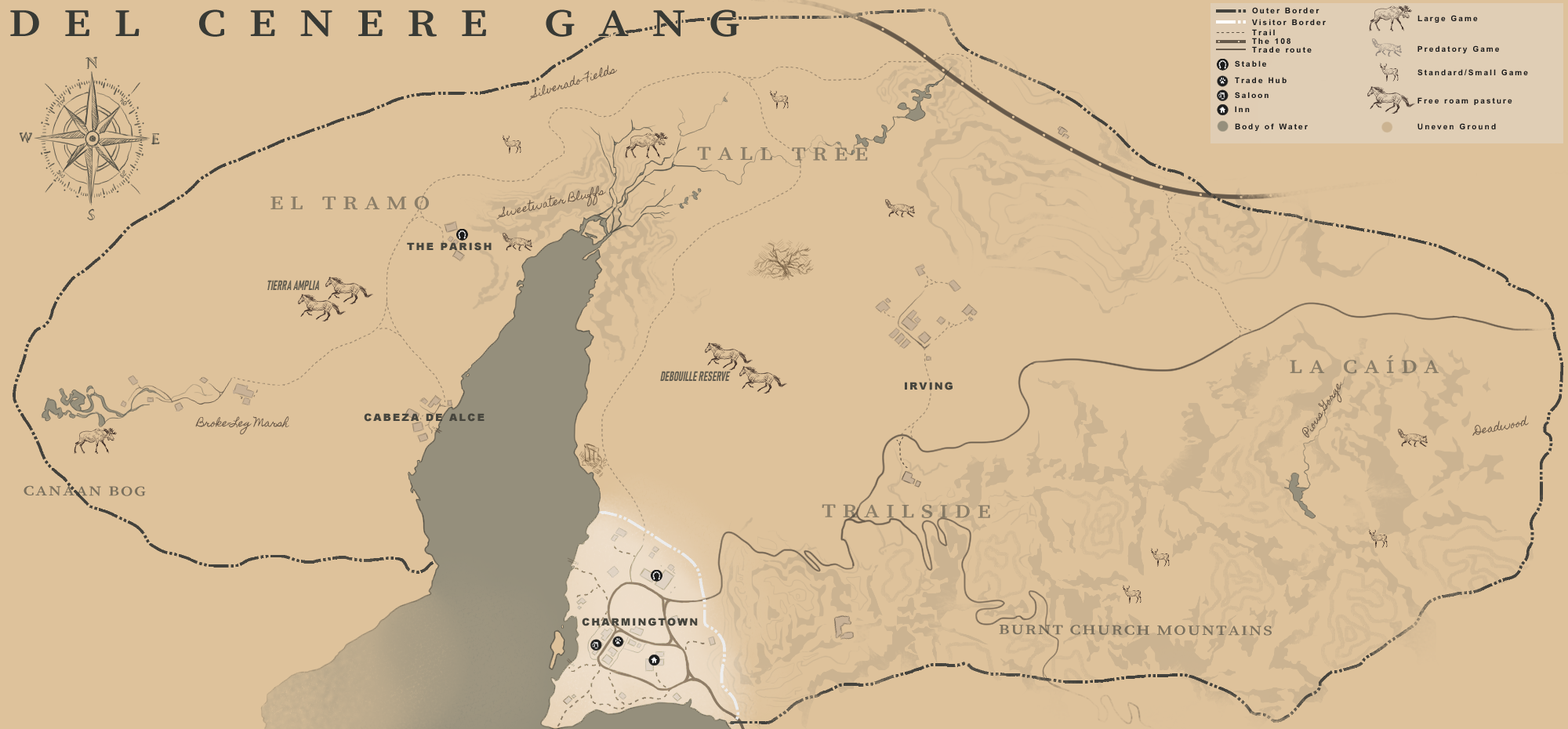 DCG territory map by Despi